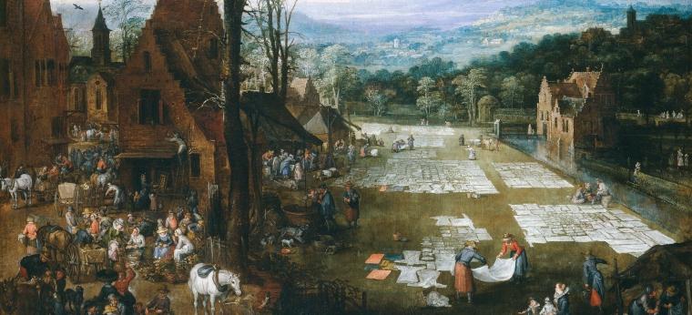 brueghel mercado y lavadero en flandes2.jpg